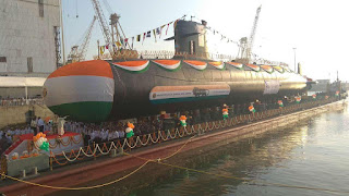 Spotlight : Submarine INS Karanj Launched at Mumbai's Mazagon Docks