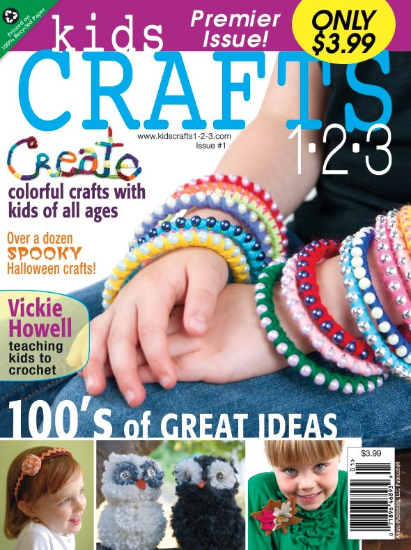 Pink and Green Mama * Check Out the Newest Issue Kids Crafts 1-2-3 Magazine