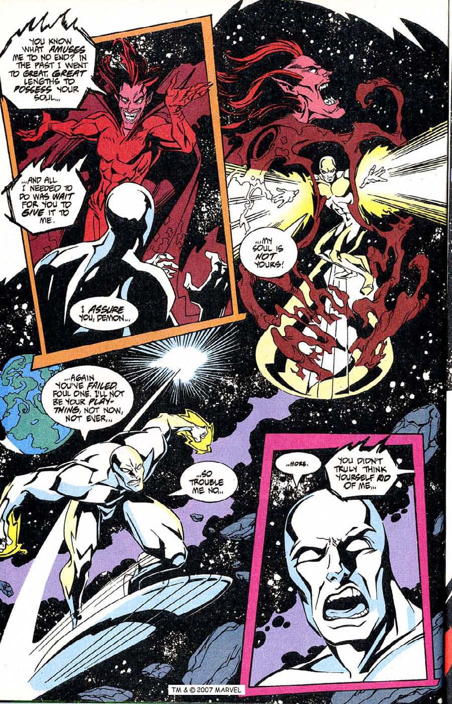 Read online Silver Surfer (1987) comic -  Issue #100 - 8