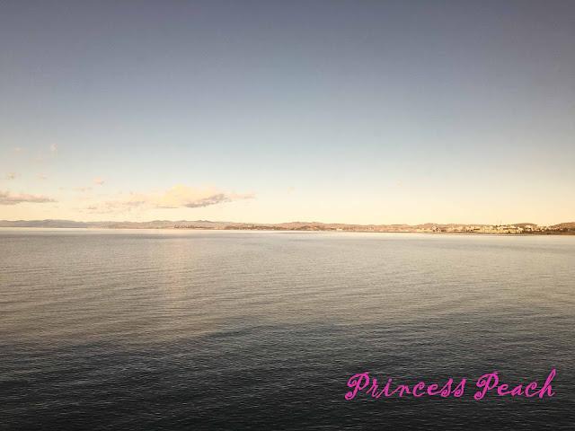 加州微風號沿途風景