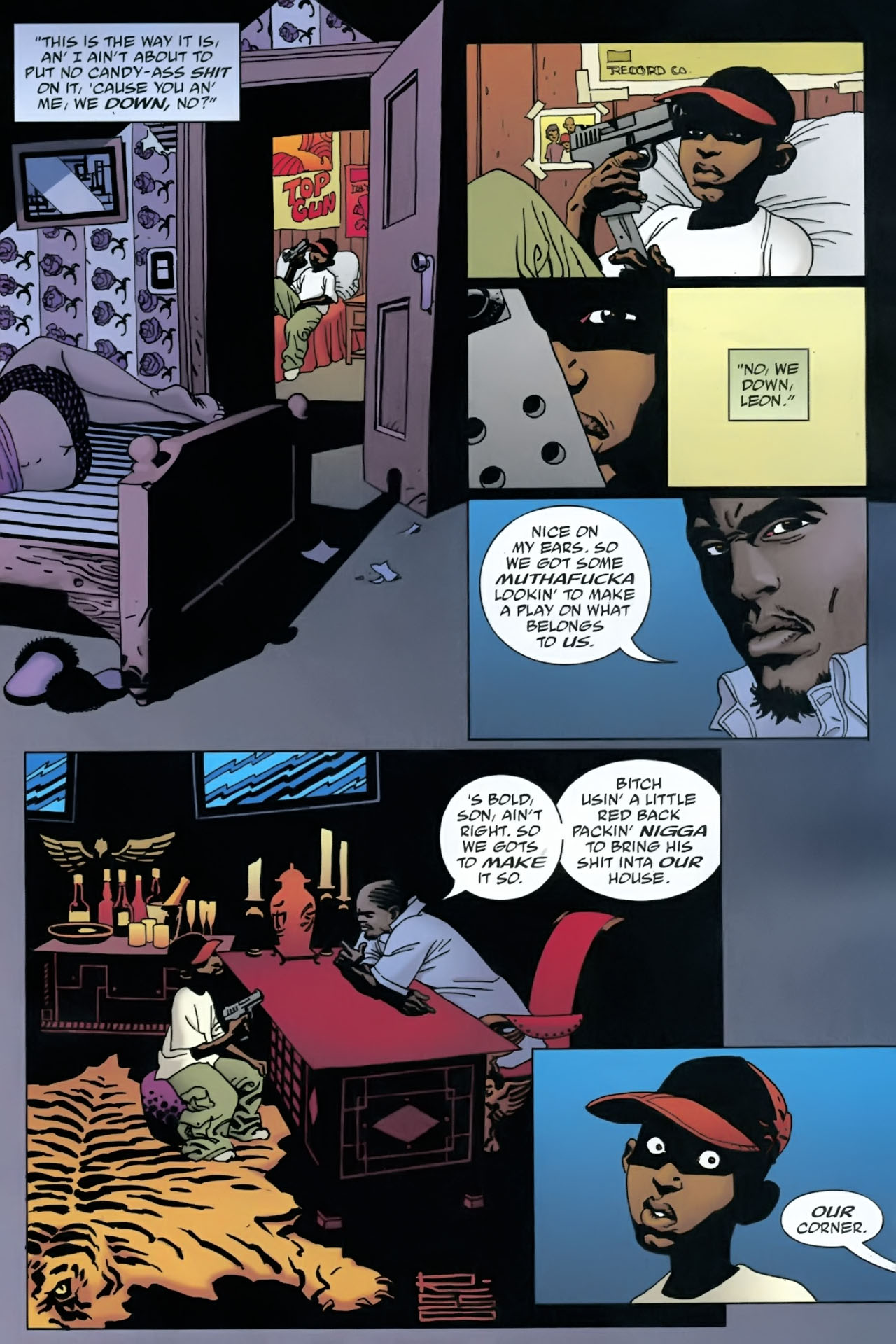 Read online 100 Bullets comic -  Issue #90 - 8