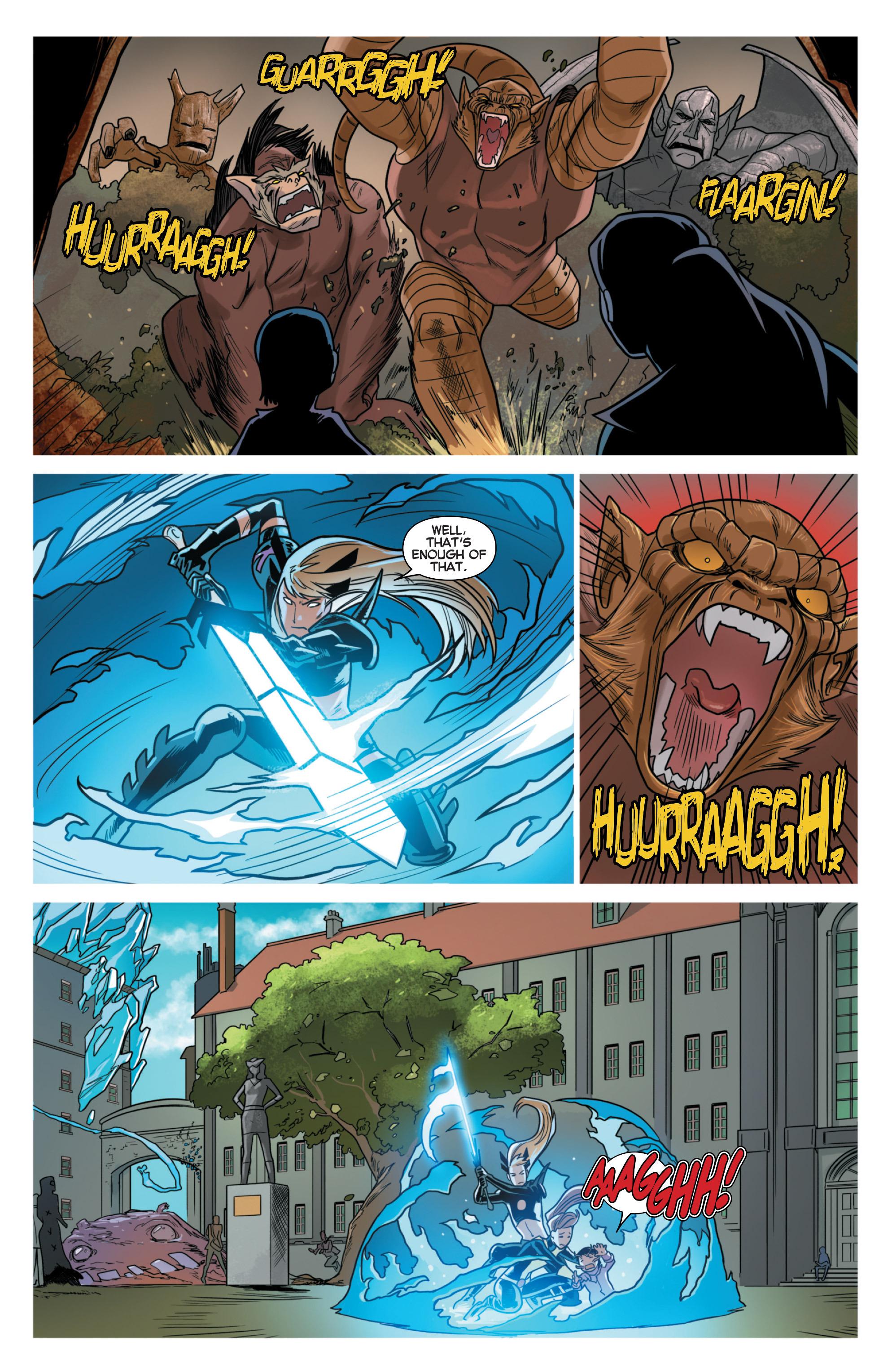 Read online Uncanny X-Men (2013) comic -  Issue #33 - 19
