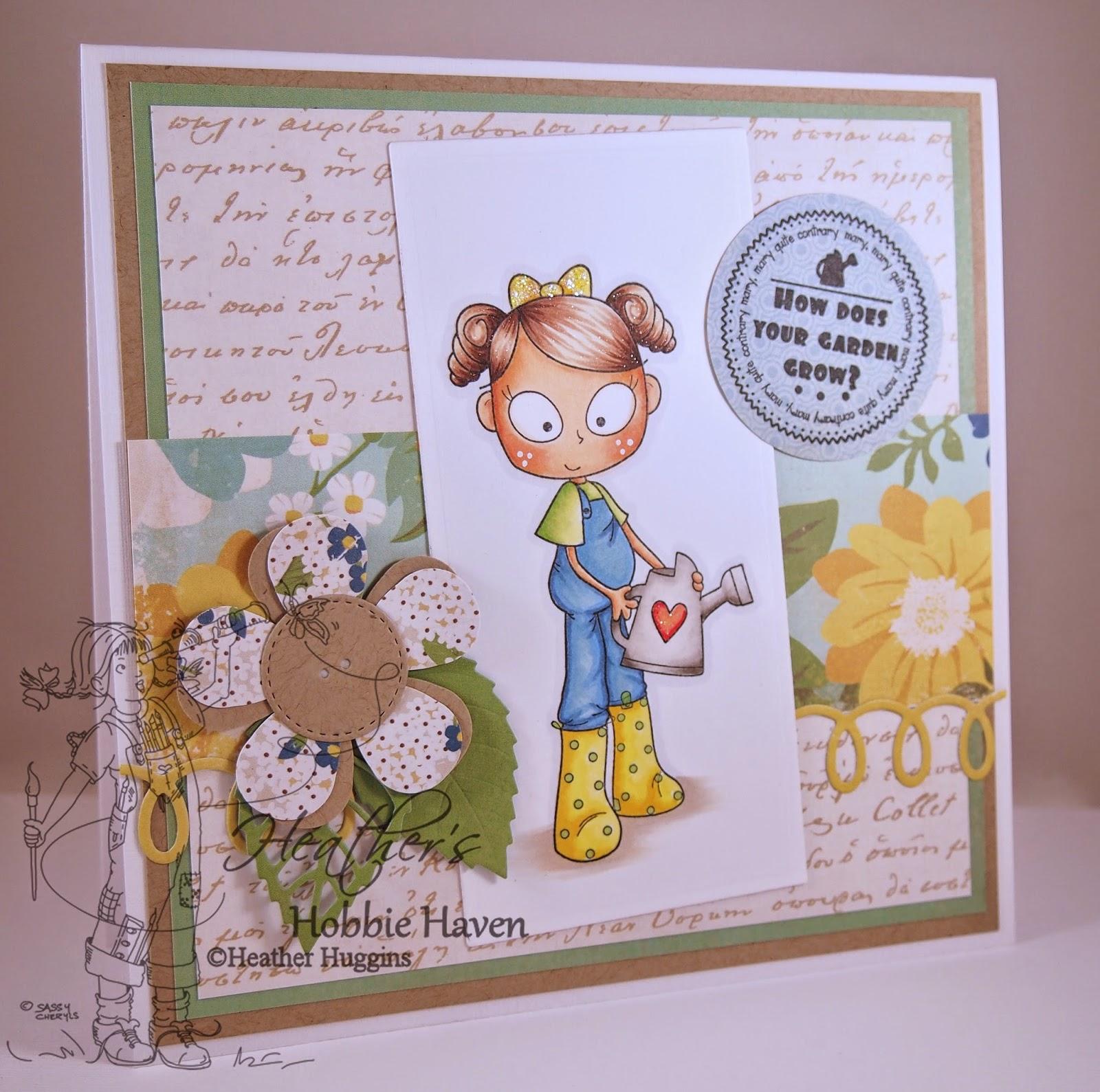 Heather's Hobbie Haven - Garden Card Kit