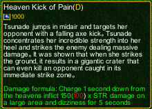 naruto castle defense 6.0 Stunade Heaven Kick of Pain detail