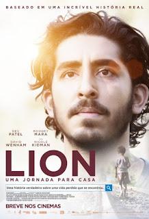 Capa Lion Uma Jornada para Casa Torrent Dublado 720p 1080p 5.1 Baixar
