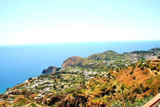 mare, acqua, vegetazione, panorama, Ischia, isola,costa