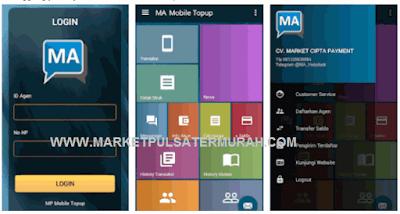 Aplikasi Market Pulsa