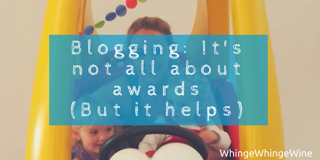 Blogging: It's not all about awards (But it helps): Finalist in the Mumsnet Blogging Awards