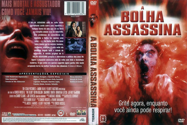 Capa DVD A Bolha Assassina
