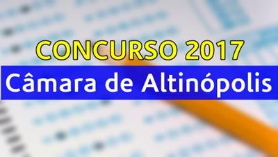 Concurso Câmara de Altinópolis 2017