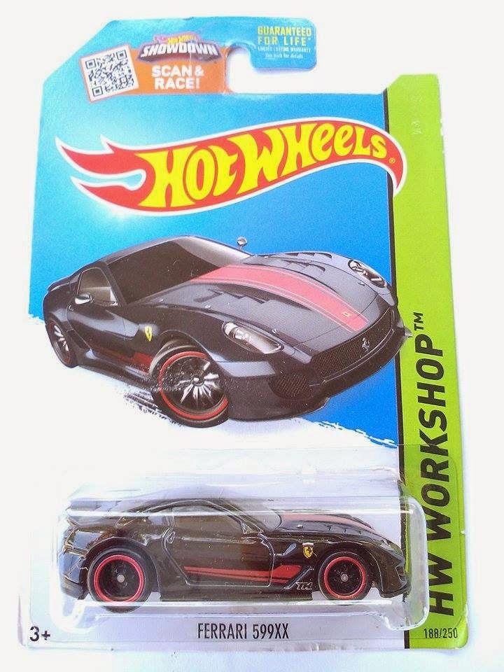 Hot Wheels 2015 Super Treasure Hunt Mainlane Super Treasure Hunt Ferrari 599xx Hot Wheels 2015