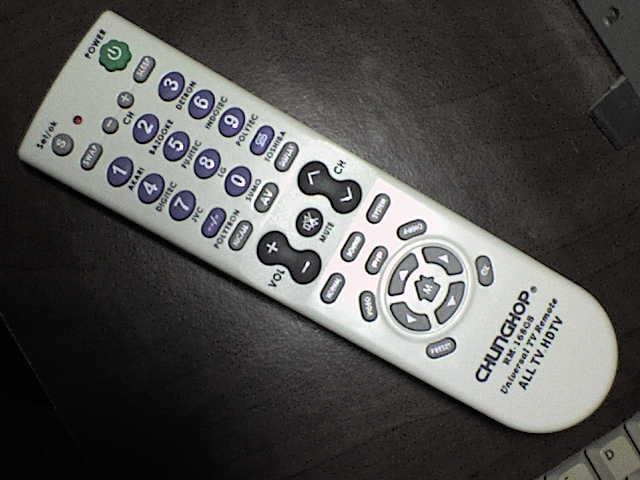 Kode Remote CHUNGHOP RM-168GS/RM-168B + cara setting