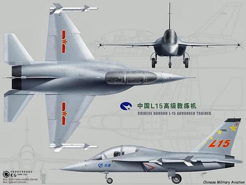 Vistas del Hongdu L-15