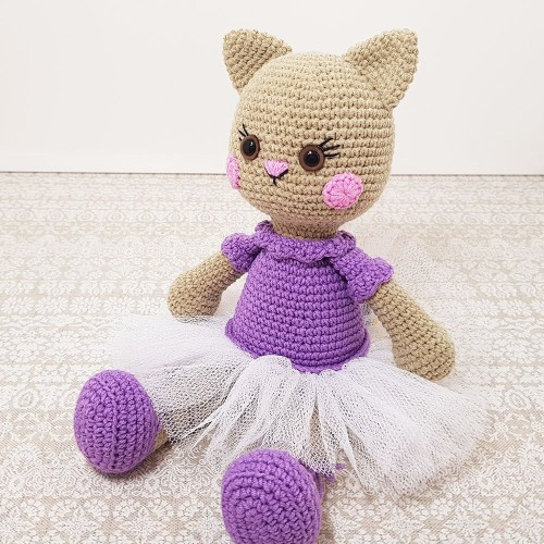 Ballerina Cat Doll - Free Pattern