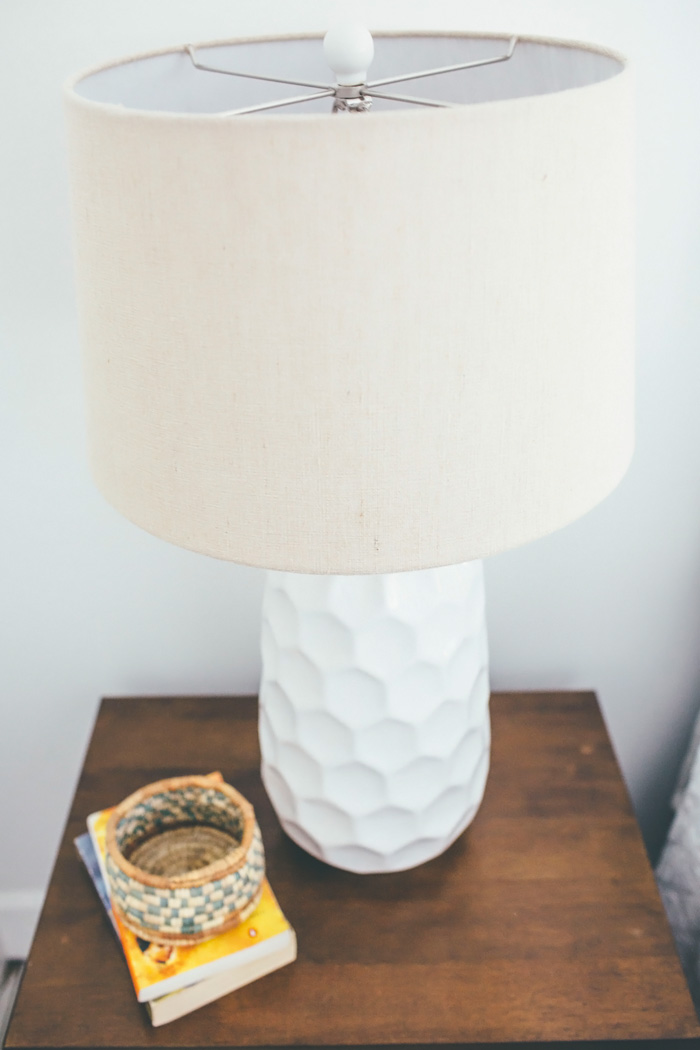 The Honeycomb Dreams Table Lamp Stood Out To Me As Soon As I Saw It, And I  Knew It Would Be The Perfect Fit For The Room.