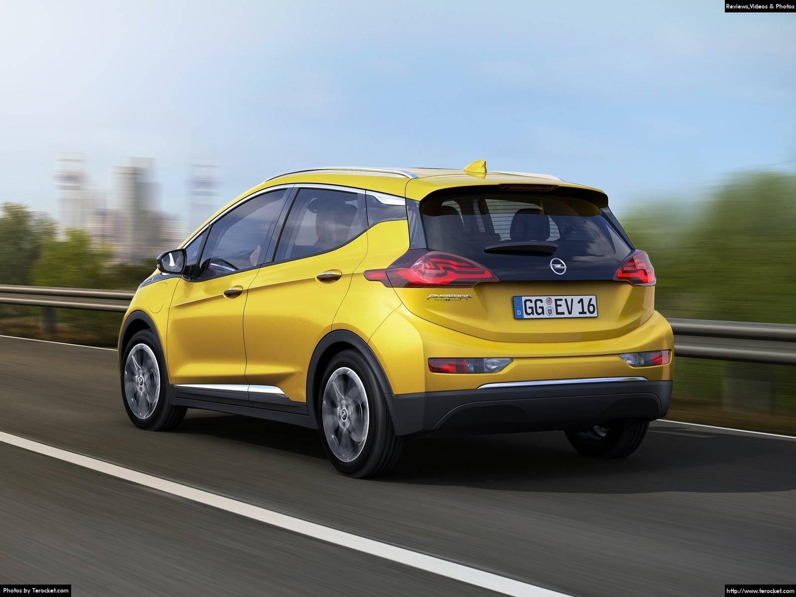 Hình ảnh xe ô tô Opel Ampera-e 2017 & nội ngoại thất