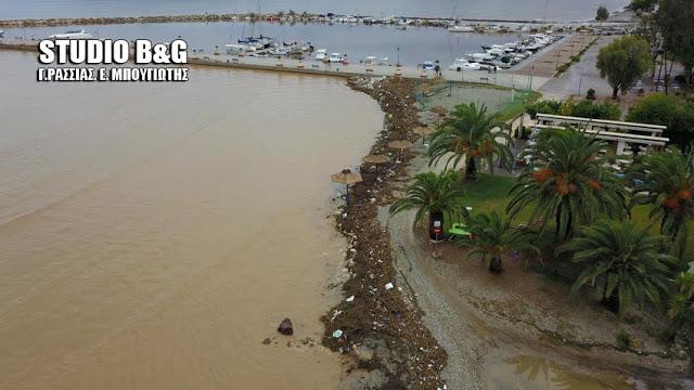 """Με 1.500.000€ χρηματοδοτείται η Περιφερειακή Ενότητα Αργολίδας για την αποκατάσταση ζημιών από το """"Ζορμπά"""""""