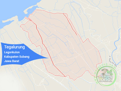 PETA : Desa Tegalurung, Kecamatan Legonkulon