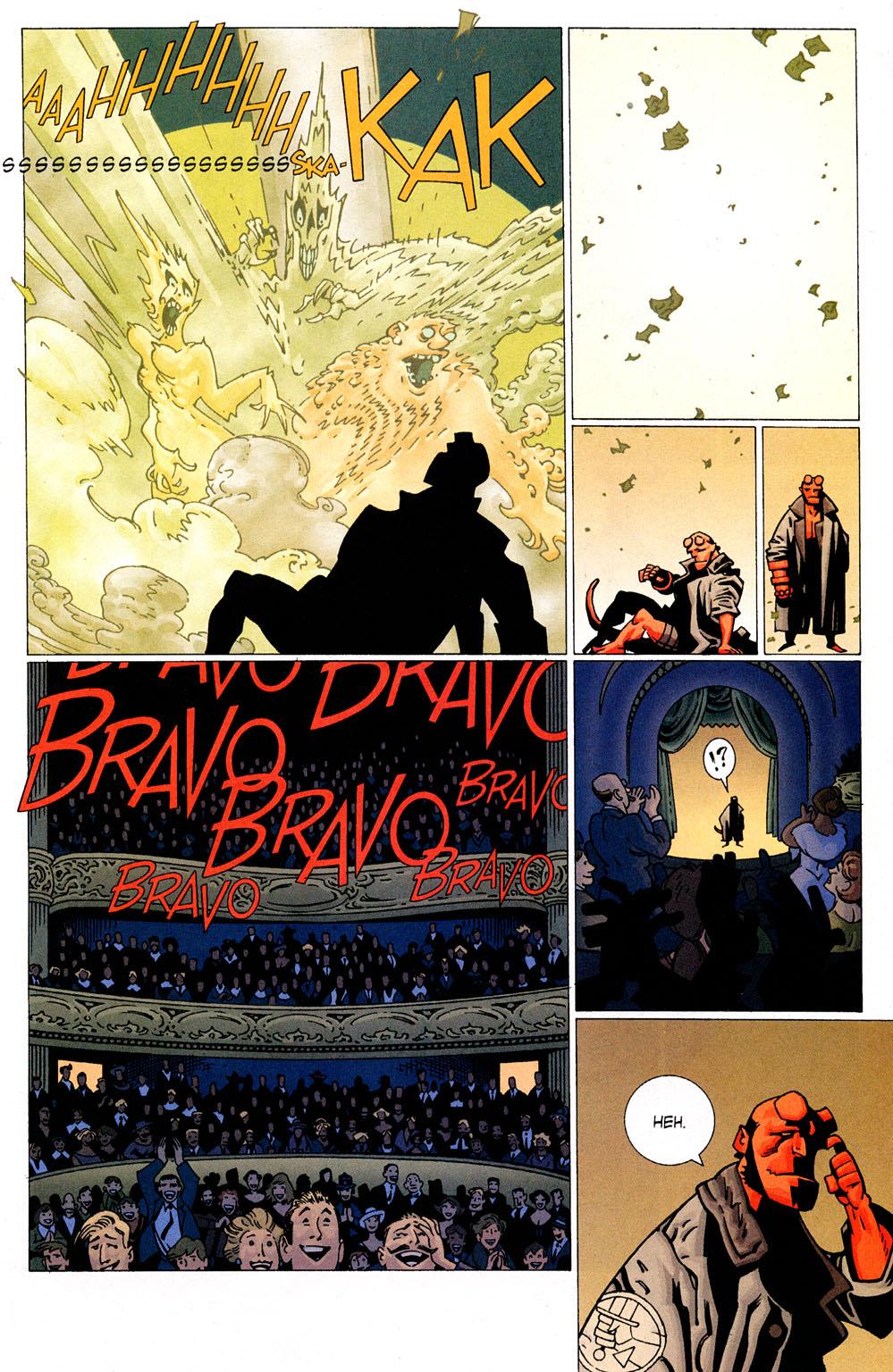 Read online Hellboy: Weird Tales comic -  Issue #6 - 9