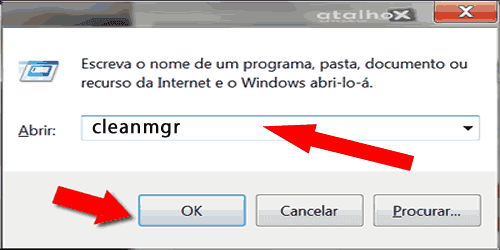 Limpeza do disco no windows