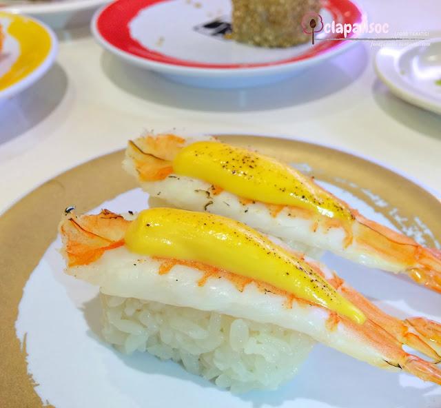 Cheese Premium Shrimp from Genki Sushi