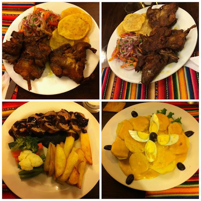 Onde não comer em Aguas Calientes - Restaurante Tunqui