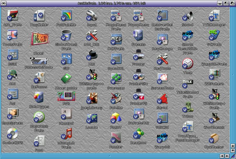 AmiKit 8 1 Real on Amiga 4000T - Part 2   AmigaBlogs