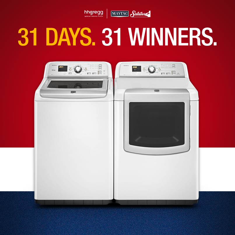 hhgregg and Maytag Giveaway