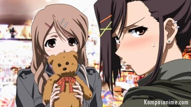anime yuri romance terbaik