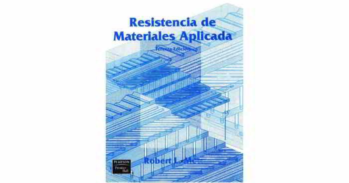 descargar libro en pdf Resistencia de Materiales Aplicada - Robert L. Mott