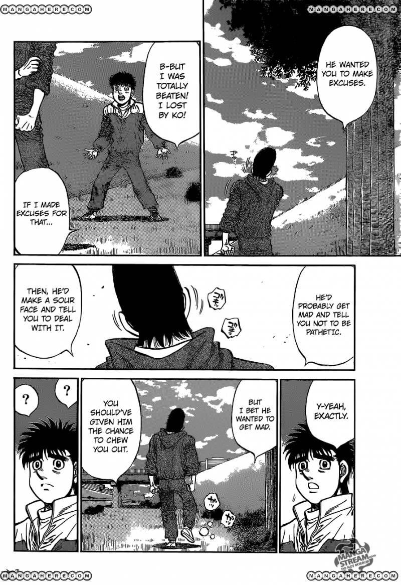 Hajime no Ippo - Chapter 1079