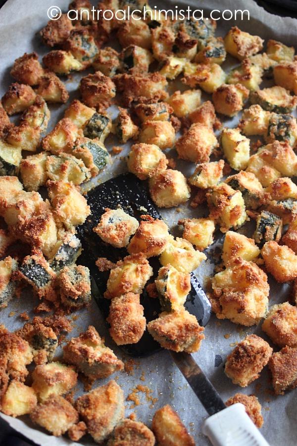 Bomboncini di Zucchine e Patate al Forno