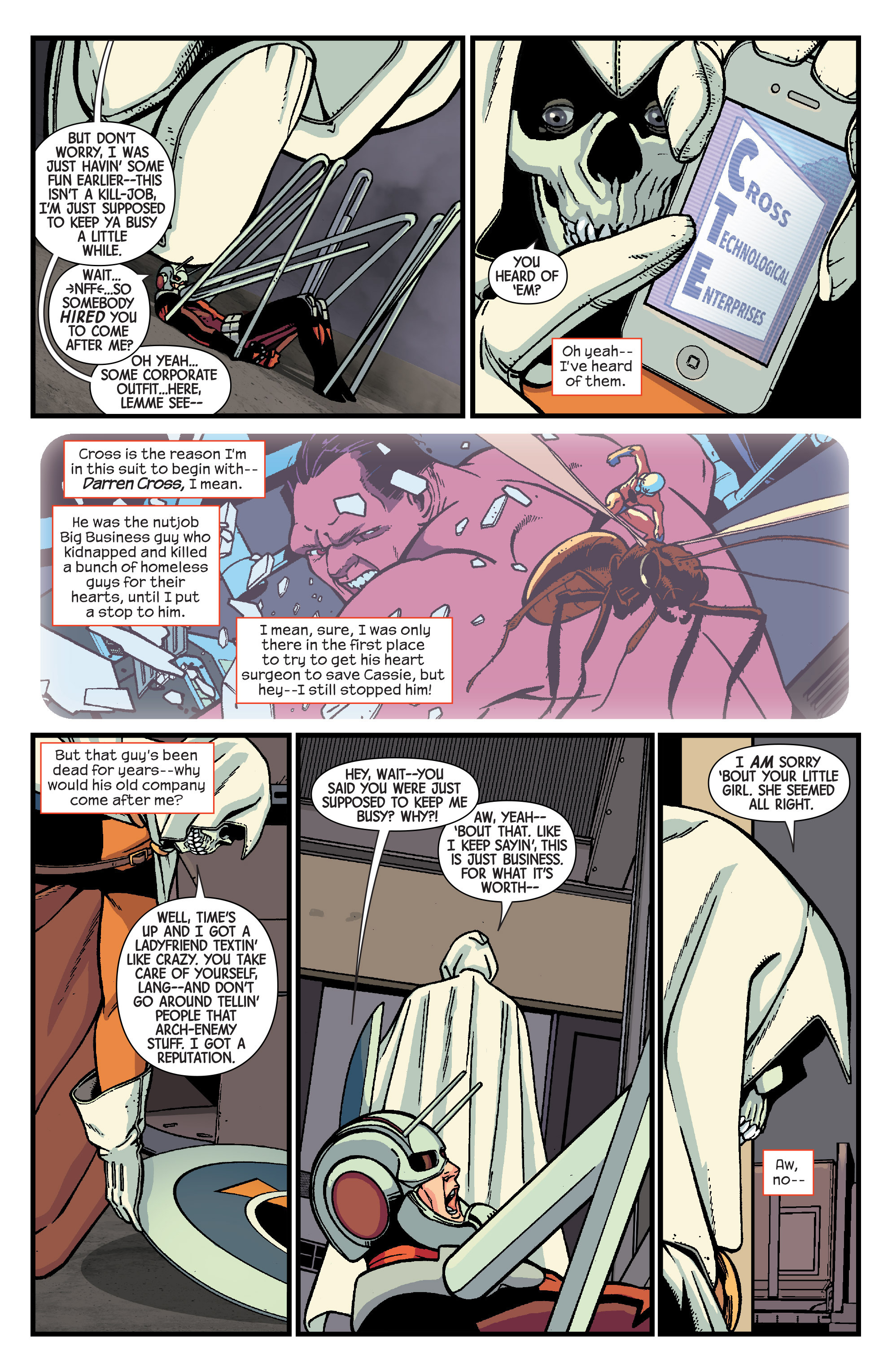 Read online Ant-Man comic -  Issue #3 - 18