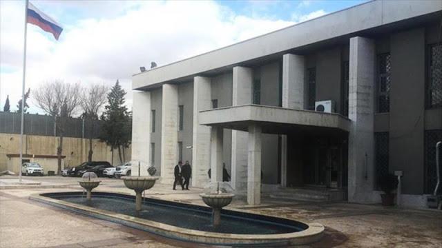 EEUU no deja que la ONU condene ataque a embajada rusa en Siria