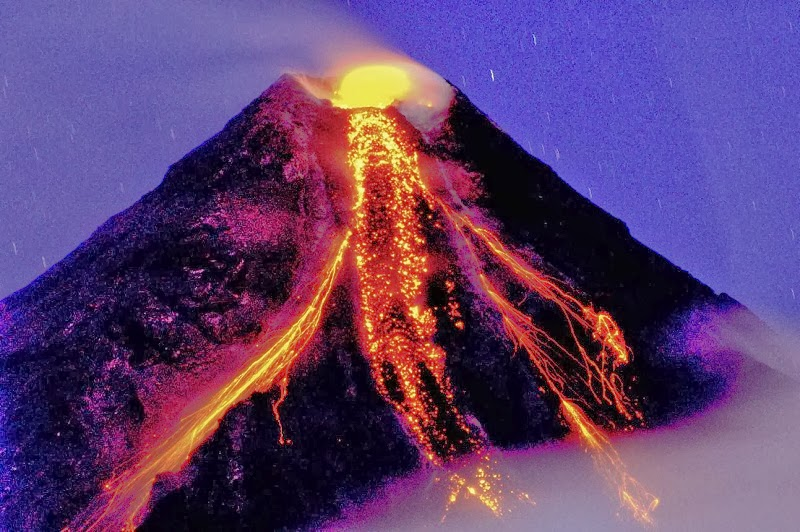 Mayon Volcano, Albay, Philippines - Top 10 Stunning Volcanoes Around the World