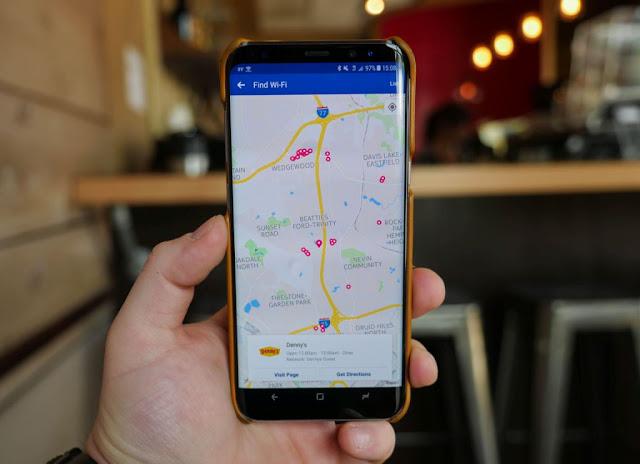 Cara Menemukan Hotspot Wi-Fi Internet Gratis Terdekat Menggunakan Facebook Locator