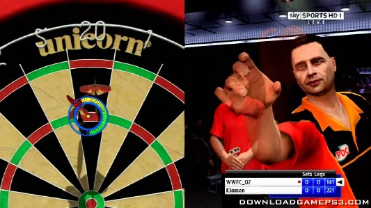 pdc world championship darts pro tour download game ps3