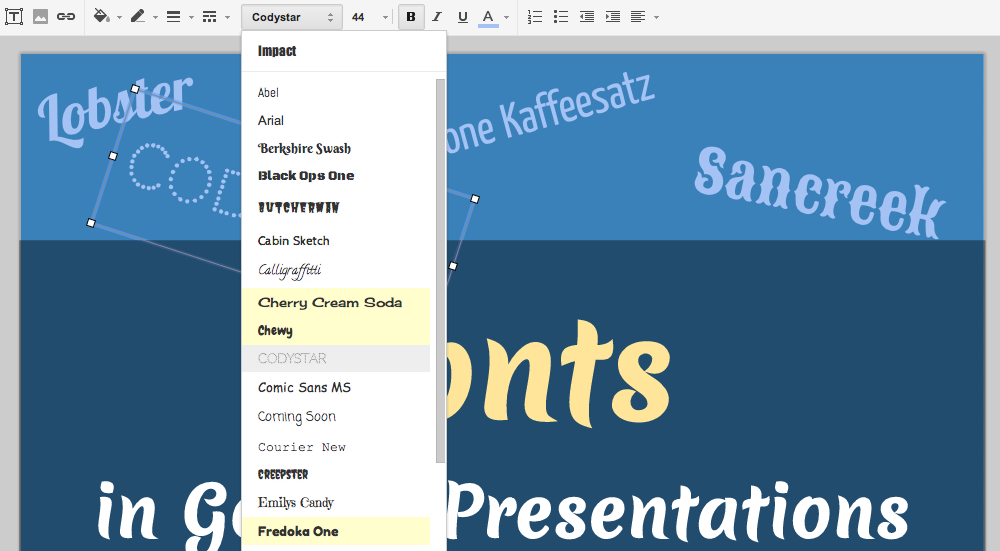 Google Drive Blog: 450+ new ways to make your Google presentations pop