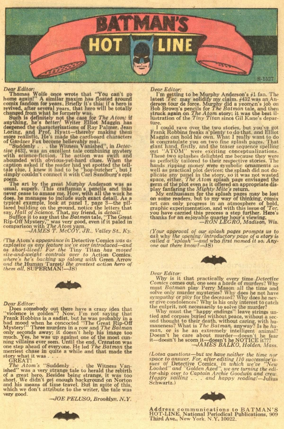 Detective Comics (1937) 436 Page 16