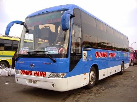Hãng xe Quang Hanh từ Sài Gòn và miền Tây đi Nha Trang