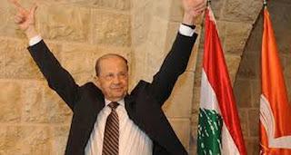 العماد ميشيل عون رئيسا للبنان