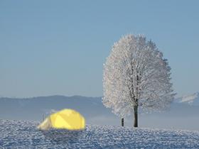 雪原テント(素材使用)