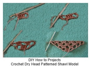 Crochet Shawl Models 1