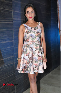 Actress Madhu Shalini Stills in Floral Short Dress at RGV Shiva to Vangaveeti Event  0111.JPG