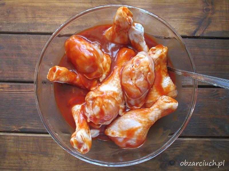 Kurczak W Coli Obzarciuch