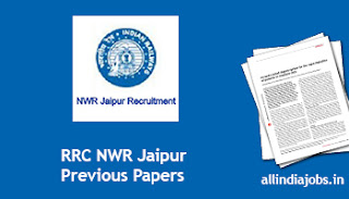 RRC NWR Jaipur Assistant Loco Pilot Previous Papers