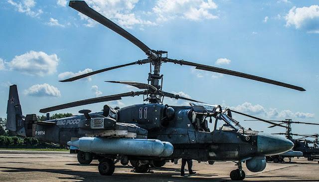 Nga Có Thể Sử Dụng Trực thăng Ka-52 Để Phá Hủy Khu Vực SAM Của Ukraina