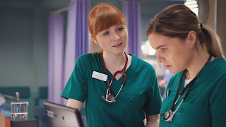 BBC, Casualty, episode review, series 32, episode 40, Bea, Alicia, Chelsea Halfpenny, Michelle Fox