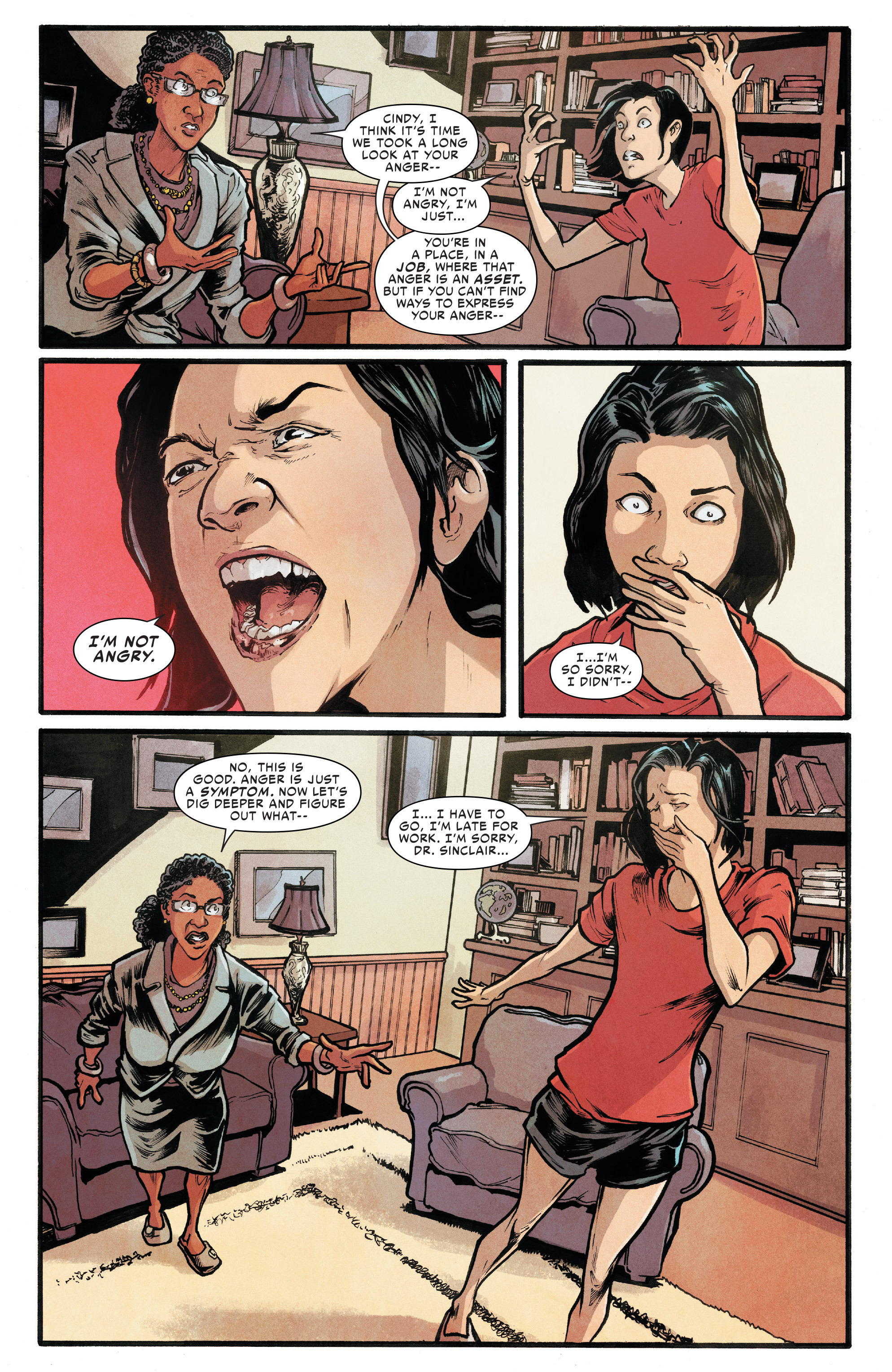 Read online Silk (2016) comic -  Issue #6 - 19