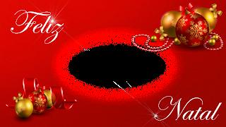 moldura natal 2017 com decoração_feliz natal e estrelas